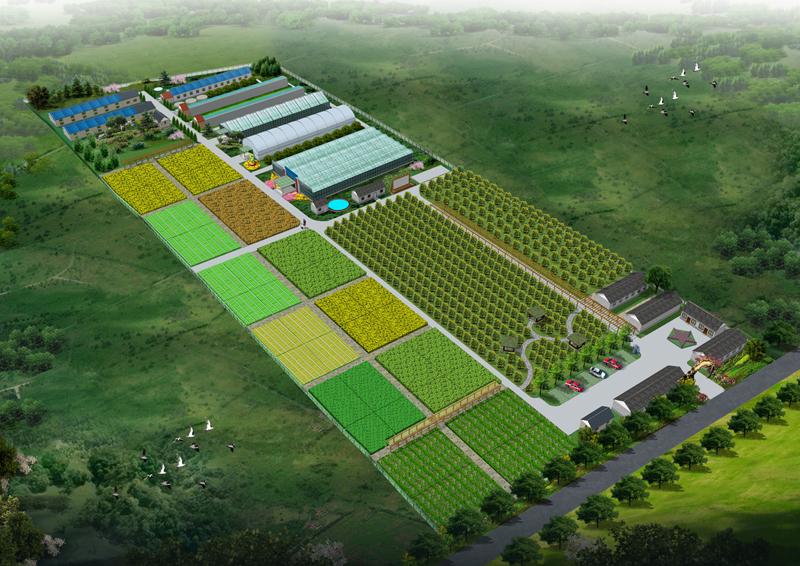 观光农业生态园的规划设计
